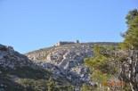 Vista del castell des de Santa Caterina